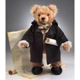 George Washington 41 cm Teddy Bear by Hermann-Coburg