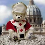 Pope Johannes Paul II 39 cm Teddy Bear by Hermann-Coburg
