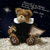 Galileo Galilei 38 cm Teddy Bear by Hermann-Coburg