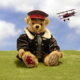 The Red Baron 41 cm Teddy Bear by Hermann-Coburg