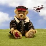 Der Rote Baron 41 cm Teddybär von Hermann-Coburg