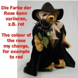 Phantom der Oper 40 cm Teddy Bear by Hermann-Coburg