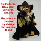 Phantom der Oper 40 cm Teddybär von Hermann-Coburg