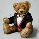 Der Walzerkönig Johann Strauß 40 cm Teddybär von Hermann-Coburg