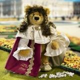 Ludwig XIV  Der Sonnenkönig 43 cm Teddybär von Hermann-Coburg