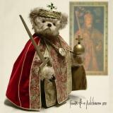 Charlemagne 38 cm Teddy Bear by Hermann-Coburg