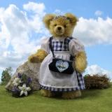 Therese of Bavaria 35 cm Teddy Bear by Hermann-Coburg