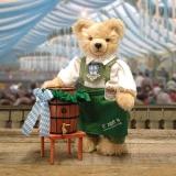 Oktoberfest Wiesnwirt Ozapft is  37 cm Teddybär von Hermann-Coburg