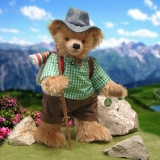 Happy Wanderer 38 cm Teddy Bear by Hermann-Coburg