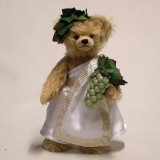 God of Wine – Bacchus 34 cm Teddy Bear by Hermann-Coburg