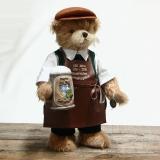Bavarian Beer Brewer 37 cm Teddy Bear by Hermann-Coburg