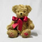LeoStar Sign Teddybear 23 cm Teddy Bear by Hermann-Coburg