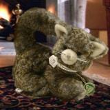 Little Princess Cat 22 cm Teddy Bear by Hermann-Coburg