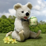 Little Easter Mouse 19 cm Teddy Bear by Hermann-Coburg