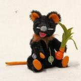 Eine kleine Halloween Maus 19 cm Teddy Bear by Hermann-Coburg