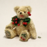 My Sweet Cherry 32 cm Teddy Bear by Hermann-Coburg