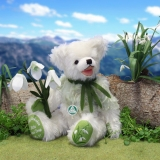 Little Snow Drop 34 cm Teddy Bear by Hermann-Coburg