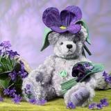 Violet 35 cm Teddybär von Hermann-Coburg