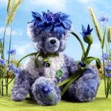 Cornflower - Kornblume 35 cm Teddybär von Hermann-Coburg