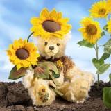 Sonnenblume - Sunflower 35 cm Teddybär von Hermann-Coburg