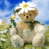 German Camomile 37 cm Teddy Bear by Hermann-Coburg