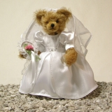 Wedding Bear  BrideMasterpiece 35 cm Teddy Bear by Hermann-Coburg