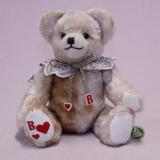 Kleiner Herz-Bube 22 cm Teddy Bear by Hermann-Coburg
