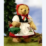 Little Red Riding Hood 31 cm Teddy Bear by Hermann-Coburg