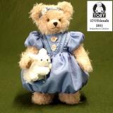 Alice in Wonderland 32 cm Teddybär von Hermann-Coburg