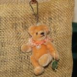 Miniatur-Mohair-Teddy Piccolo - Taschenanhänger 2019 11 cm Teddybär von Hermann-Coburg