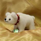 Classic Miniatur Eisbär Polar 12 cm Teddybär von Hermann-Coburg