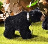 Classic Miniature Black Bear 12 cm Teddy Bear by Hermann-Coburg