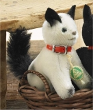 Siamkatze 12 cm Teddy Bear by Hermann-Coburg