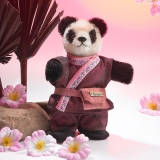 Miniatur Steh-Panda 14 cm Teddy Bear by Hermann-Coburg