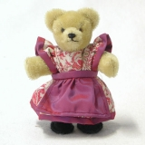Miniatur Steh-Bär Bavarian Girl 14 cm Teddy Bear by Hermann-Coburg