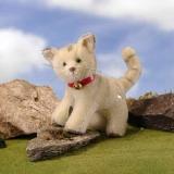HERMANN Classic Cat 22 cm Teddy Bear by Hermann-Coburg