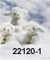 weißes Miniatur Schaf 12 cm Teddybär von Hermann-Coburg