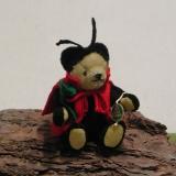 Glücksbringer Marienkäfer 14 cm Teddybär von Hermann-Coburg