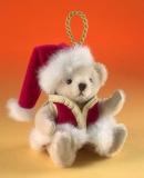 Santa 11 cm Teddybär von Hermann-Coburg