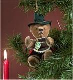 Oktoberfest 11 cm Teddybär von Hermann-Coburg