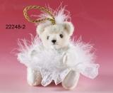 Schneeflöckchen 11 cm Teddybär von Hermann-Coburg