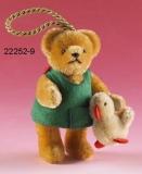 Alle meine Entchen 11 cm Teddybär von Hermann-Coburg