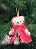Little Red Riding Hood 11 cm Teddybär von Hermann-Coburg