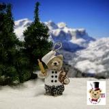 Brezel Bäcker 11 cm Teddybär von Hermann-Coburg