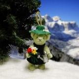 Im Garten Eden 11 cm Teddybär von Hermann-Coburg