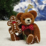 Gingerbread Man 11 cm Teddy Bear by Hermann-Coburg