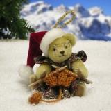 Mrs. Santa 11 cm Teddy Bear by Hermann-Coburg