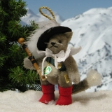 Puss in Boots 11 cm Teddy Bear by Hermann-Coburg