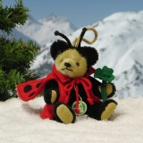 Lucky Ladybird 11 cm Teddy Bear by Hermann-Coburg