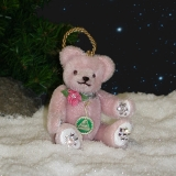 Diamond Rose 11 cm Teddy Bear by Hermann-Coburg